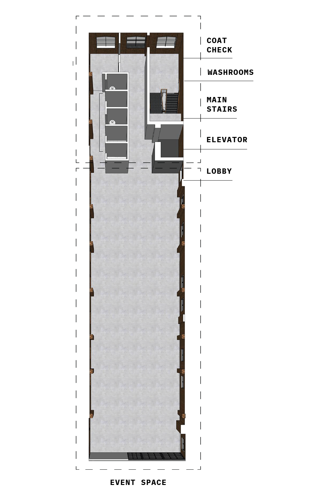 The Loft website floor plan